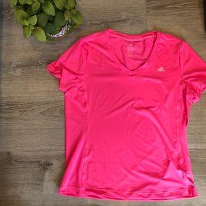 ADIDAS - work out CLIMALITE - tshirt - XL